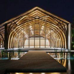 Конференц-зал из бамбука Naman Retreat