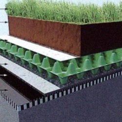 Конструктивные особенности горизонтального озеленения зданий