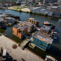 Schoonschip — плавучий район Амстердама