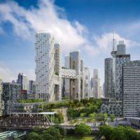 В Канаде построят жилой мега-комплекс, состоящий из девяти связанных между собой башен