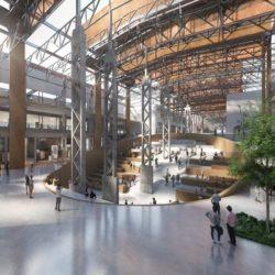 Реконструкция сталелитейного завода под Академию искусств в Шанхае