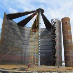 Технология возведения резервуаров и газгольдеров