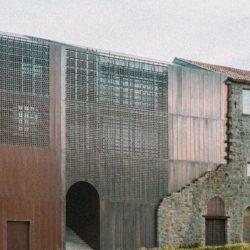 Реконструкция монастыря 15 века во Франции