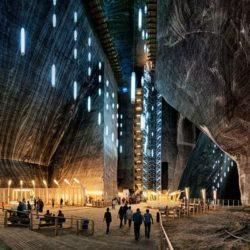 Саляна Турда — парк развлечений на глубине 122 м