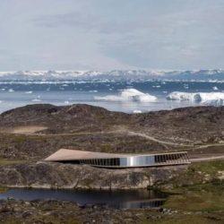 Центр климатических исследований в Гренландии