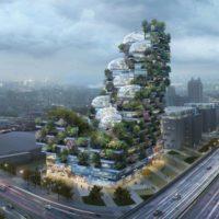 Городская вертикальная ферма Brightfood в Шанхае