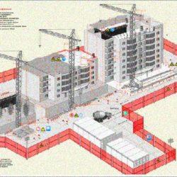 Основные принципы проектирования строительных генеральных планов