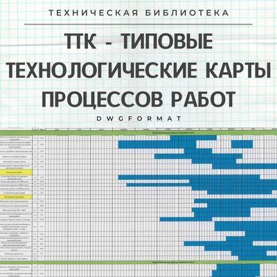 dwgformat - ТИПОВЫЕ ТЕХНОЛОГИЧЕСКИЕ КАРТЫ ТТК