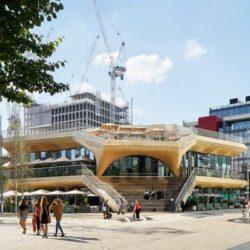 Вертикальная площадь «The Pavilion» в Лондоне
